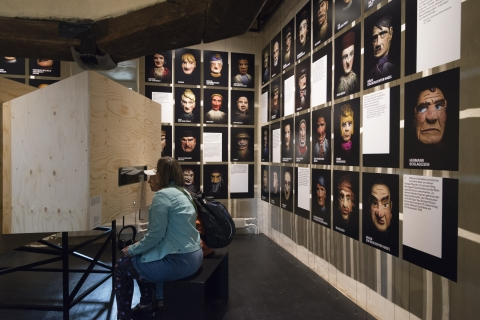 Dauerausstellung 100xAarau (Foto: Peter Koehl)