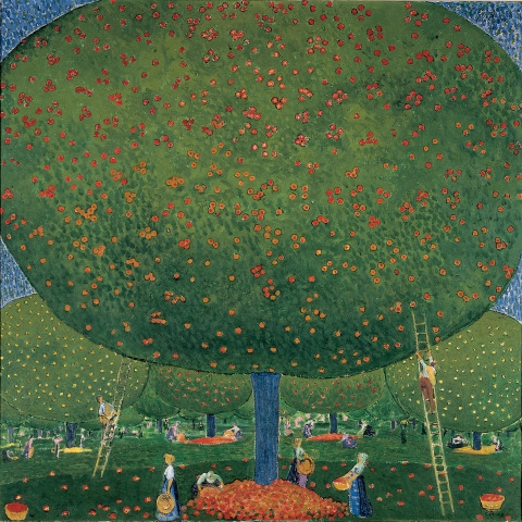 Cuno Amiet, Apfelernte, 1907