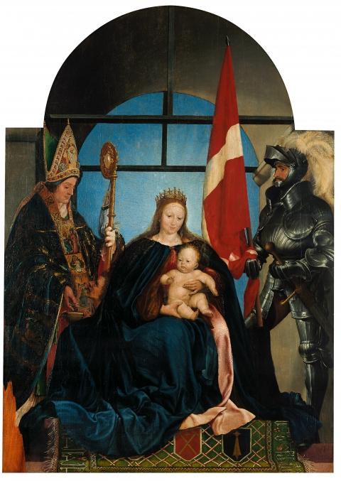 Hans Holbein d. J., Solothurner Madonna, 1522