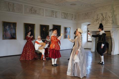 Barocker Festsaal von 1614