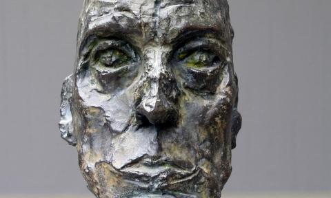 Alberto Giacometti, portrait de Eli Lotar III, 1965, detail