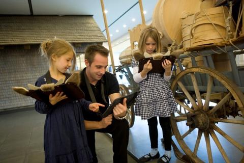 mit dem iPad durch's Museum