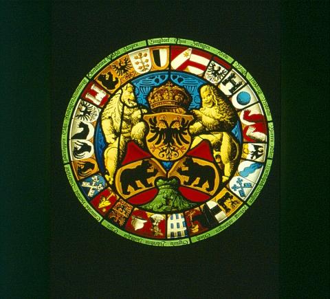 Ämterscheibe Bern von 1542.