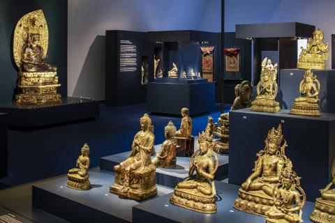 Buddhas in der Ausstellung «Erleuchtet»