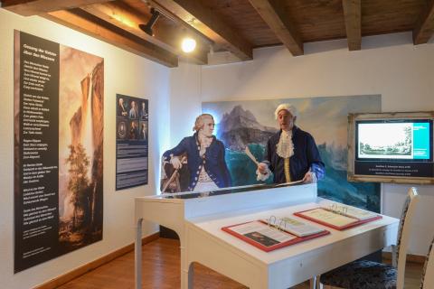 Anschub für Tourismus: Schweizer Reise von J.W.Goethe 1779
