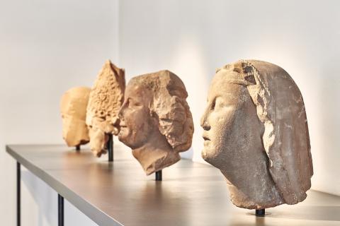 Blick in die Dauerausstellung. Foto: Mark Niedermann
