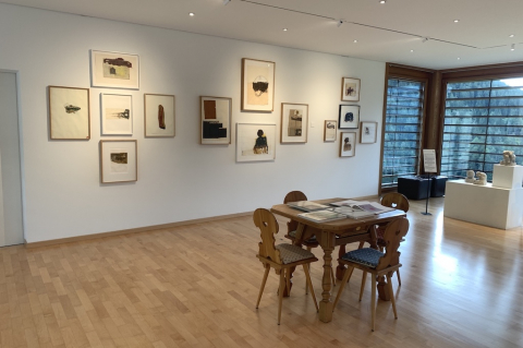 Kunst Schweizer ist in der Galerie Sala Parpan zu sehen