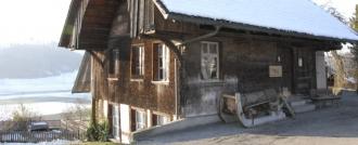 Das Ortsmuseum bei der Kirche in Vechigen