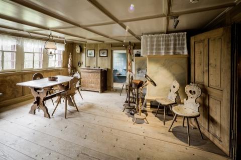 Zimmer im Museum Schlangenhaus (Foto Daniel Ammann)