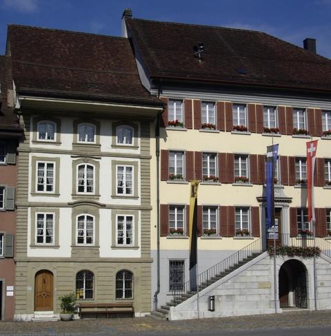 Heimatmuseum mit Rathaushalle