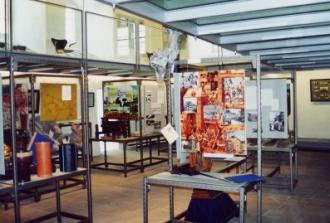 Die Dauerausstellung mit Themeninseln zur Stadtgeschichte.