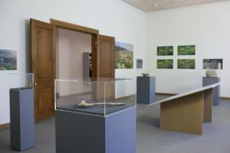 Moderne Ausstellungen in historischen Räumen.