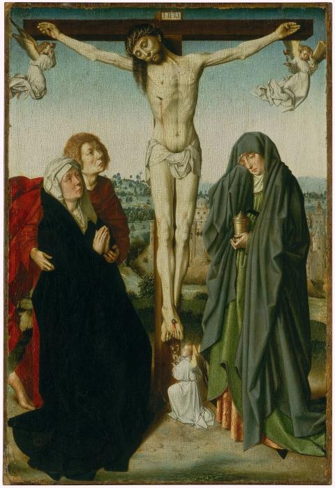 Gerard David, Die Kreuzigung Christi, um 1480-85