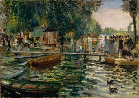 Pierre-Auguste Renoir, La Grenoullière, 1869
