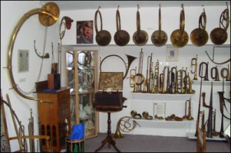 Blasinstrumente Museum Karl Burri in Bern