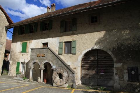 Le musée de Baulmes, anciennement maison de la dîme.