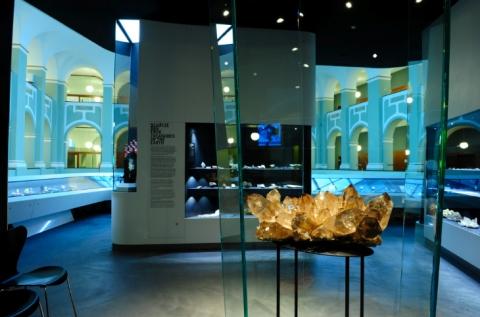 Indergand Kristallgruppe. Foto: Susana Bruell