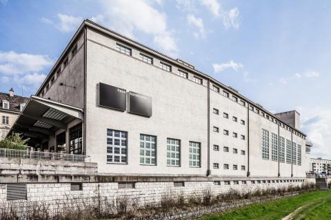 Aussenfassade des ehemaligen Elektriziätswerks