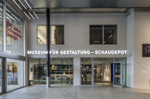 Museum für Gestaltung Zürich, Toni-Areal, photo: Betty Fleck