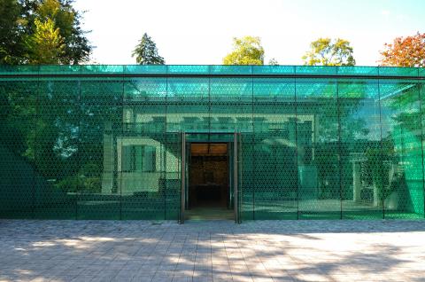 «Smaragd» Eingang/Kasse, Temporäre Ausstellungen, Sammlung
