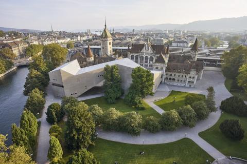 Das Landesmuseum Zürich: Ensemble aus Alt und Neu.