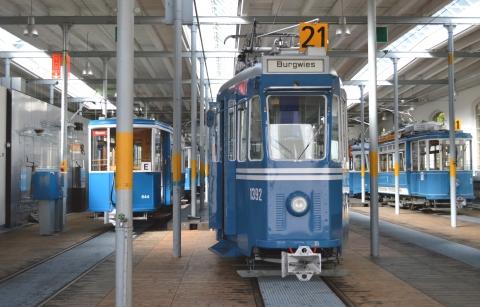 Das Tram-Museum Zürich heute