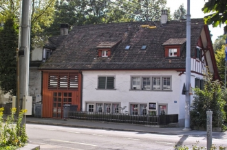 Fassade des Ortsmuseums an der Steinstrasse
