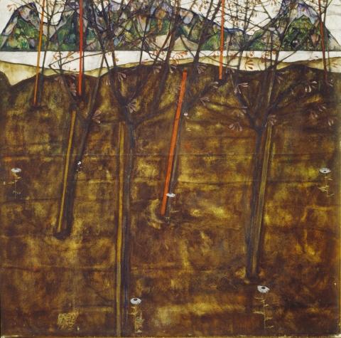 Egon Schiele, Vorfruehling, 1913