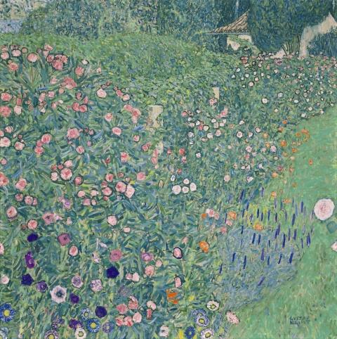 Gustav Klimt, Italienische Gartenlandschaft, 1913