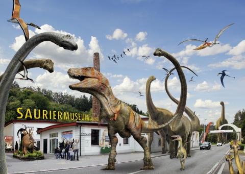 Sauriermuseum Aathal - Grösser als man denkt!