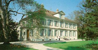 Das Museum im klassizistischen Landhaus.