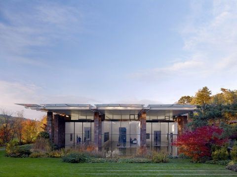 La Fondation Beyeler, Photo: Mark Niedermann