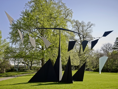 Der Park der Fondation Beyeler, Foto: Mark Niedermann