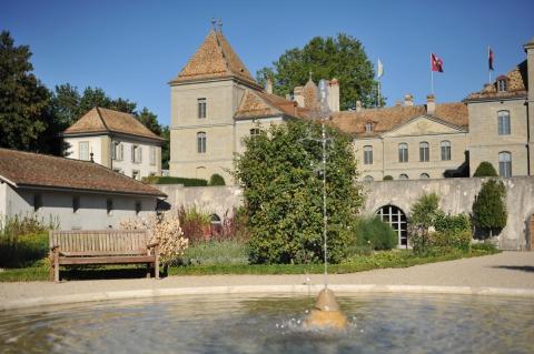 Le Château de Prangins et son jardin potager