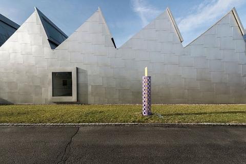 Kunstmuseum Appenzell, Bau der Architekten  Gigon / Guyer