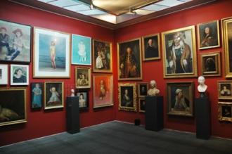 Im Zentrum der Intermezzo Ausstellung 2009