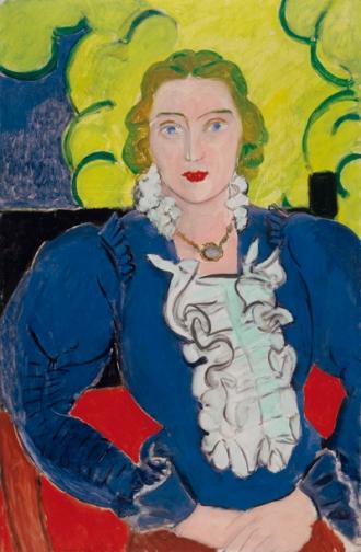 Henri Matisse, La blouse bleue, 1936 Kunstmuseum Bern