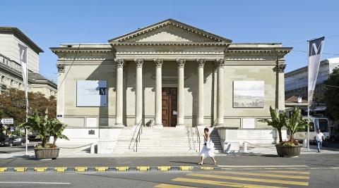 Musée Rath, la façade © Photo : Rémy Gindroz