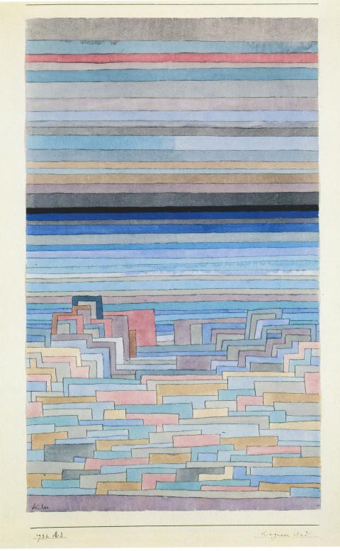 Paul Klee: Lagunenstadt, 1932, 63.