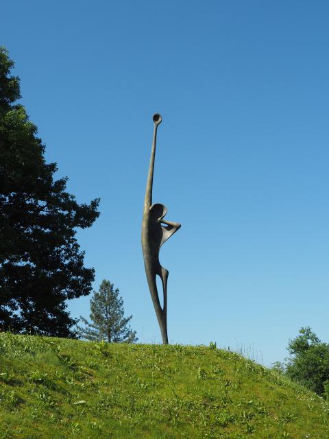 Der Ruf, Skulptur von Erwin Rehmann
