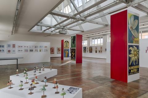 Ausstellung Karl Bickel – Der Grafiker, 2014