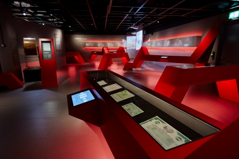 Permanent exhibition Swiss Finance Museum