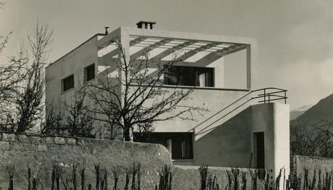 Alberto Sartoris, Maison Morand-Pasteur, Sion, 1933-1935