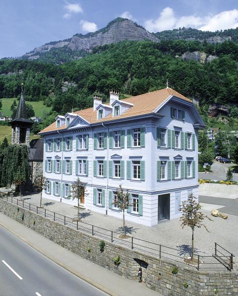 Regionalmuseum im alten Schul- und Gemeindehaus von Vitznau