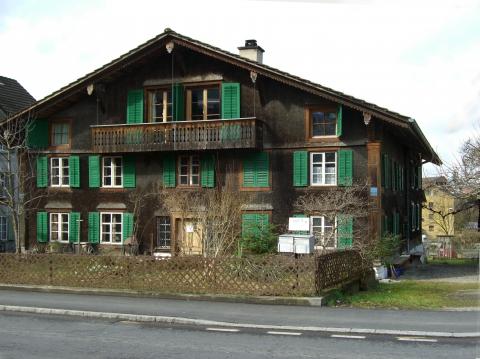 Das Museum ist im über 300 jährigen Luzerner Tätschhaus