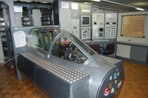 Le simulateur du Mirage IIIS