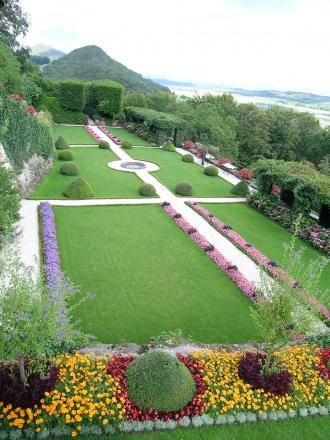 Französischer Garten auf Schloss Wartenfels, Lostorf