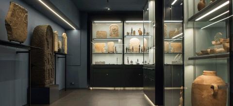 Eingangsbereich des Ausstellungsraums