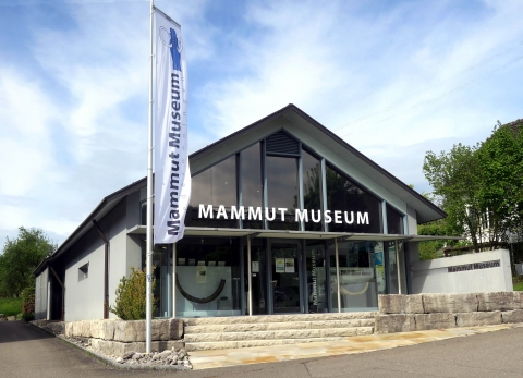 Front view of the museum
