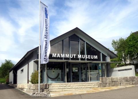 Vue de face du musée
